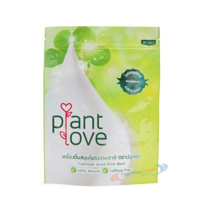 plant love บำรุงน้ำนมแม่ ซองชา ปลีกล้วย ขิง กะเพรา