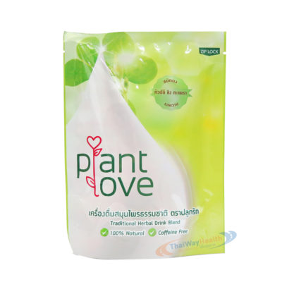 plant love บำรุงน้ำนมแม่ รสหวาน ปลีกล้วย ขิง กะเพรา